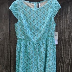 NWT ✨ Kensie Baby Blue Textured Dress